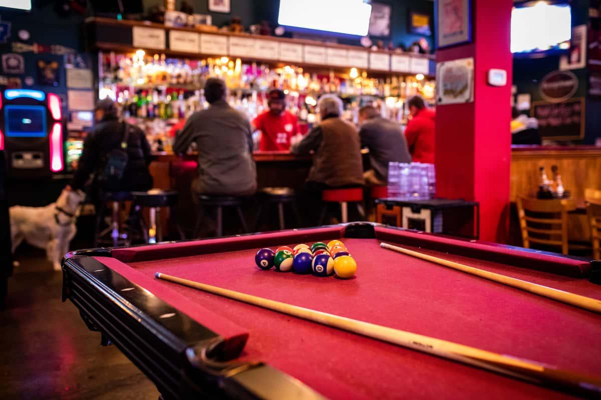 Pool Table/ Bar