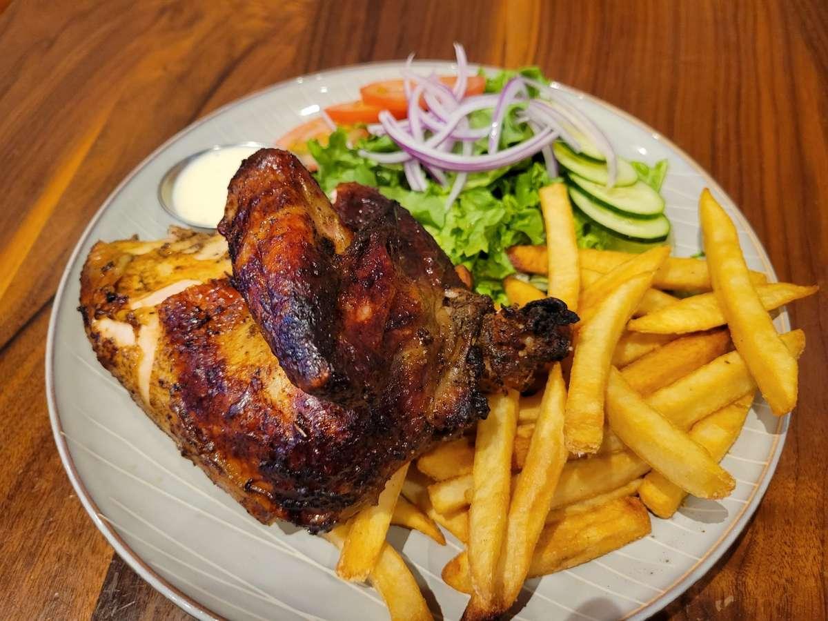 Quarter Cut Rotisserie Chicken