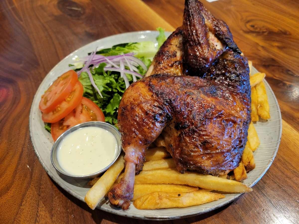 Half Cut Rotisserie Chicken