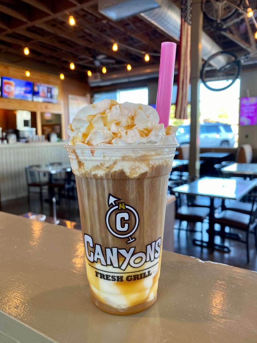Caramel Coffee Float