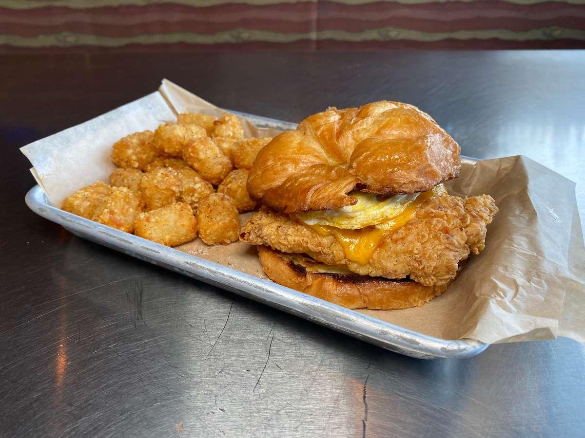 Chicken Cliff's Croissant