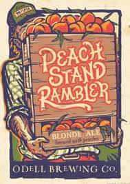 Odell Peach Stand Rambler Blonde Ale