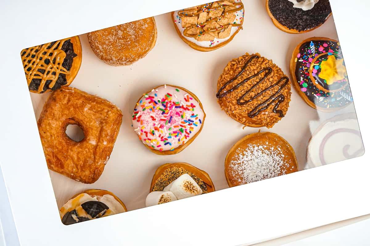 Dozen Big Donuts
