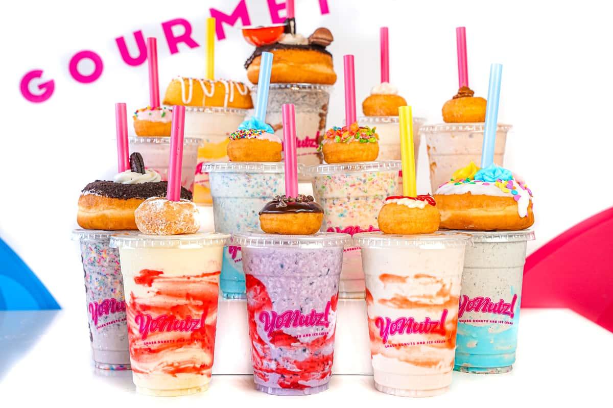 milkshake tower
