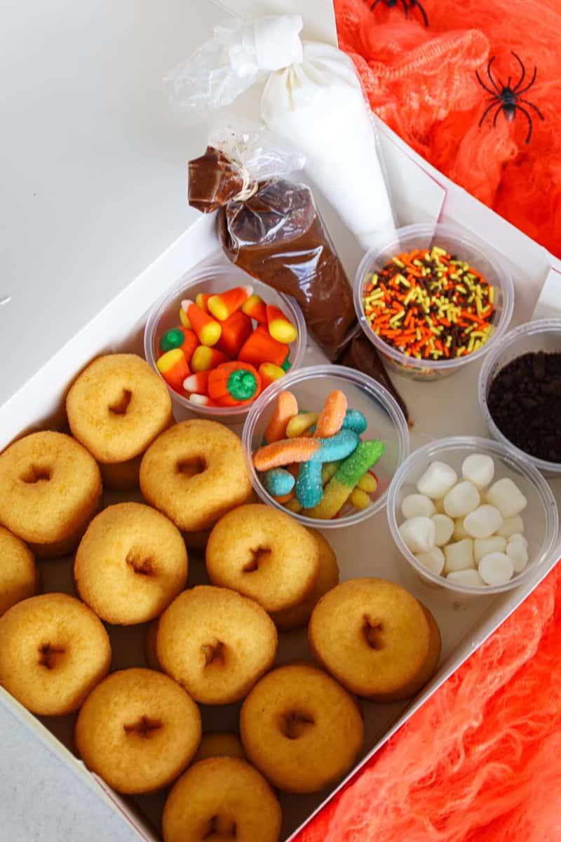 Halloween Donut Decorating Kit