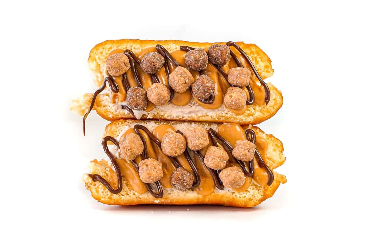 Chocolate Peanut Butter SMASH Donut