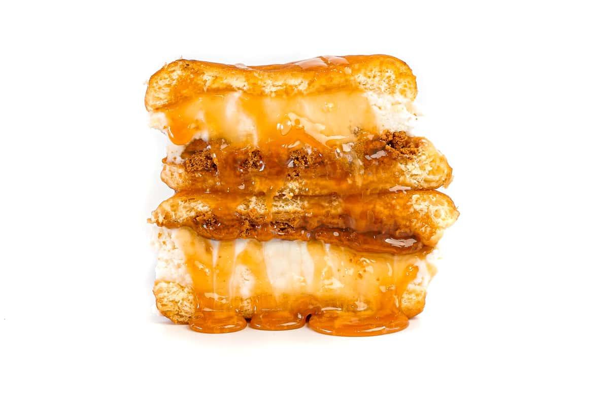 Biscoff Cookie Butter SMASH Donut (Premium)