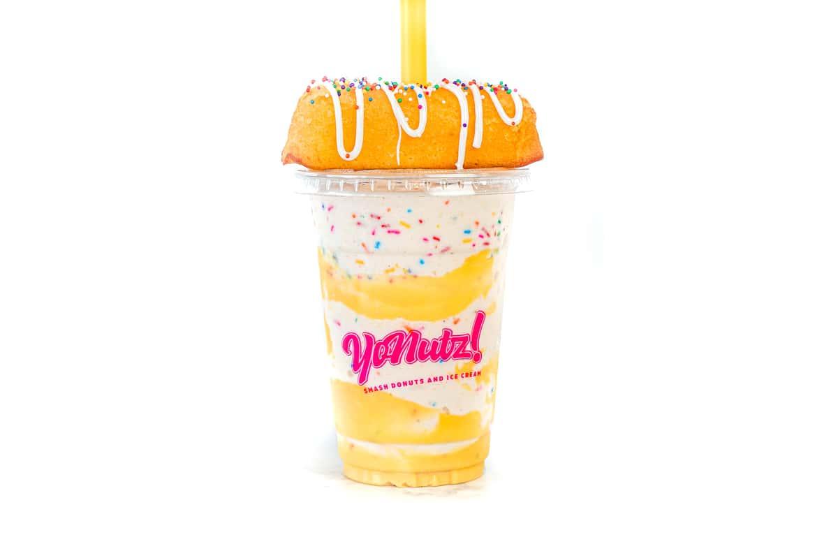 Yellow Twinkie® SMASH Milkshake