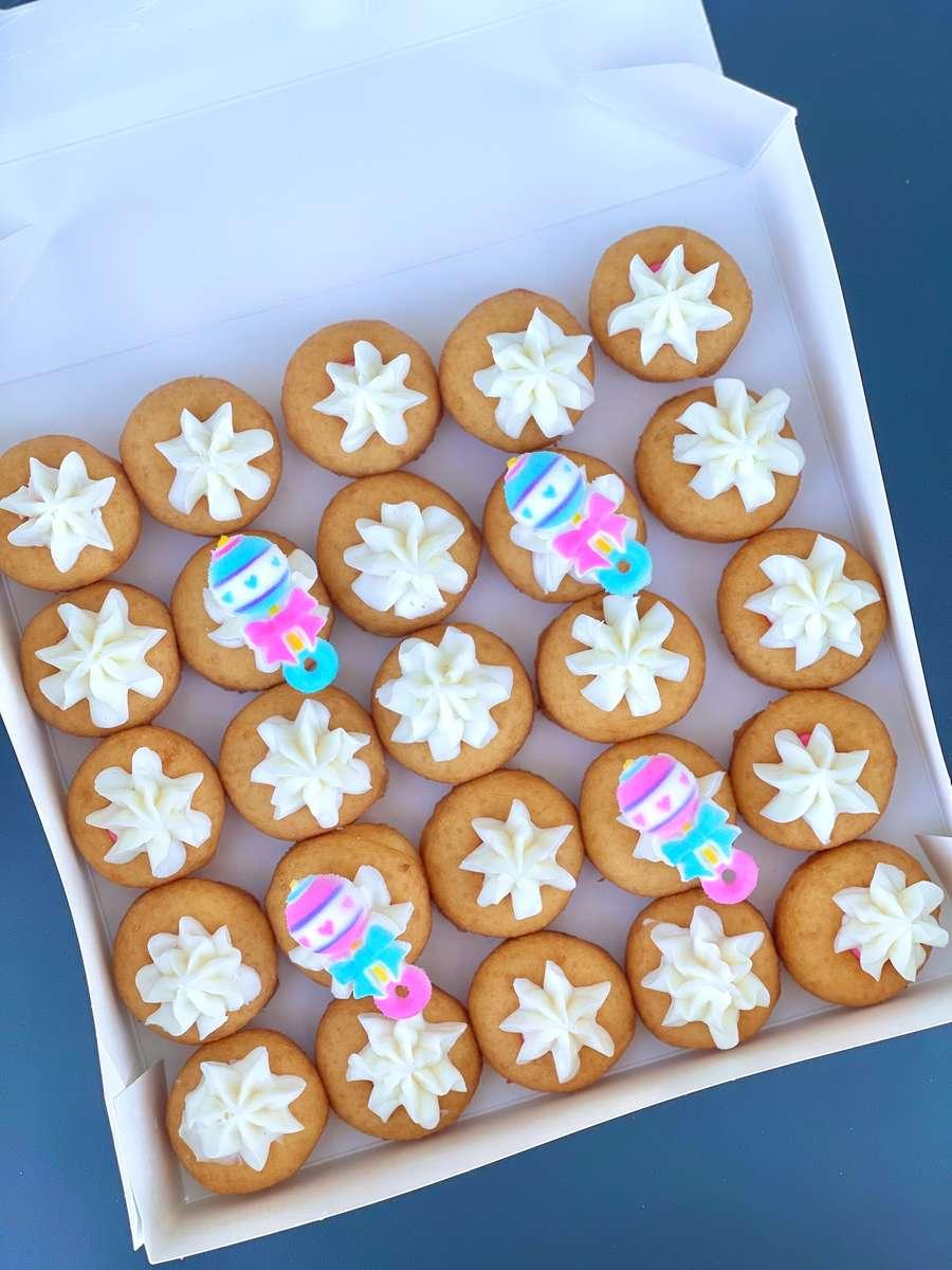 Gender Reveal Assortment Mini Donut Box