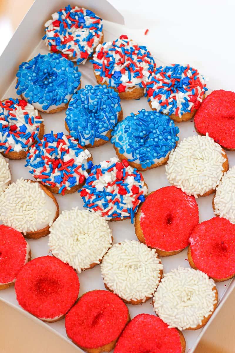 Fourth of July Mini Donut Assortment