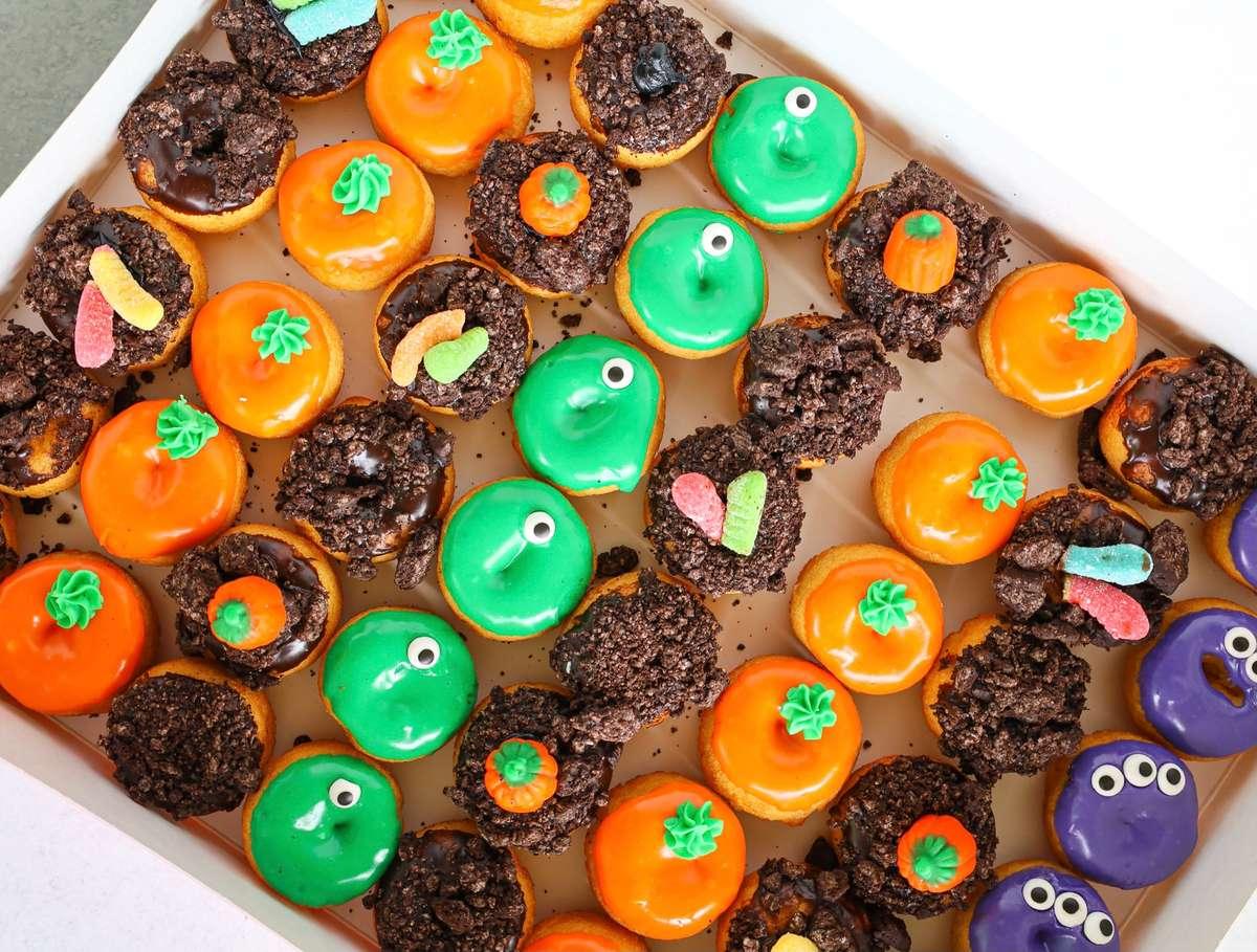Halloween Mini Donut Assortment