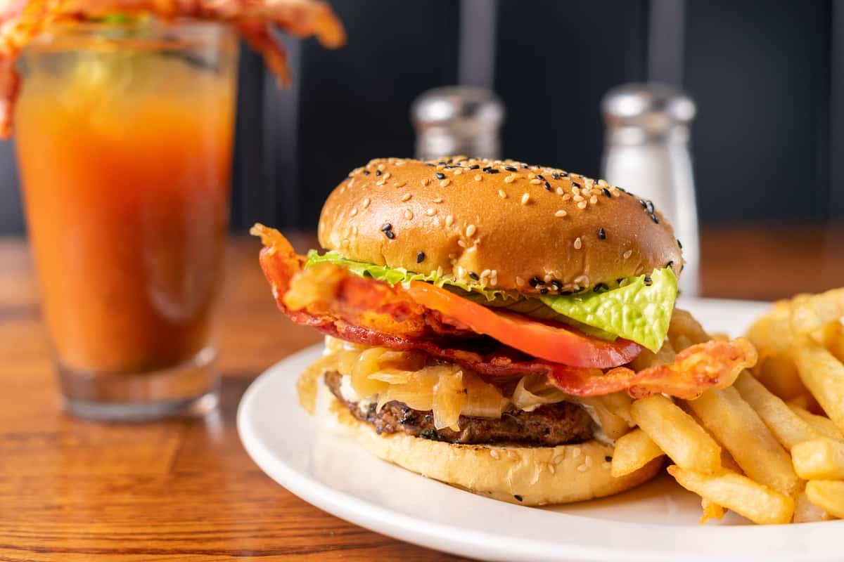corner tap burger