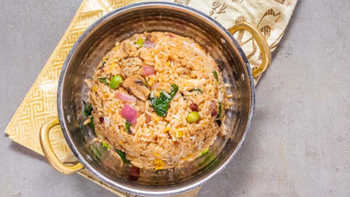 Sweet Basil Fried Rice
