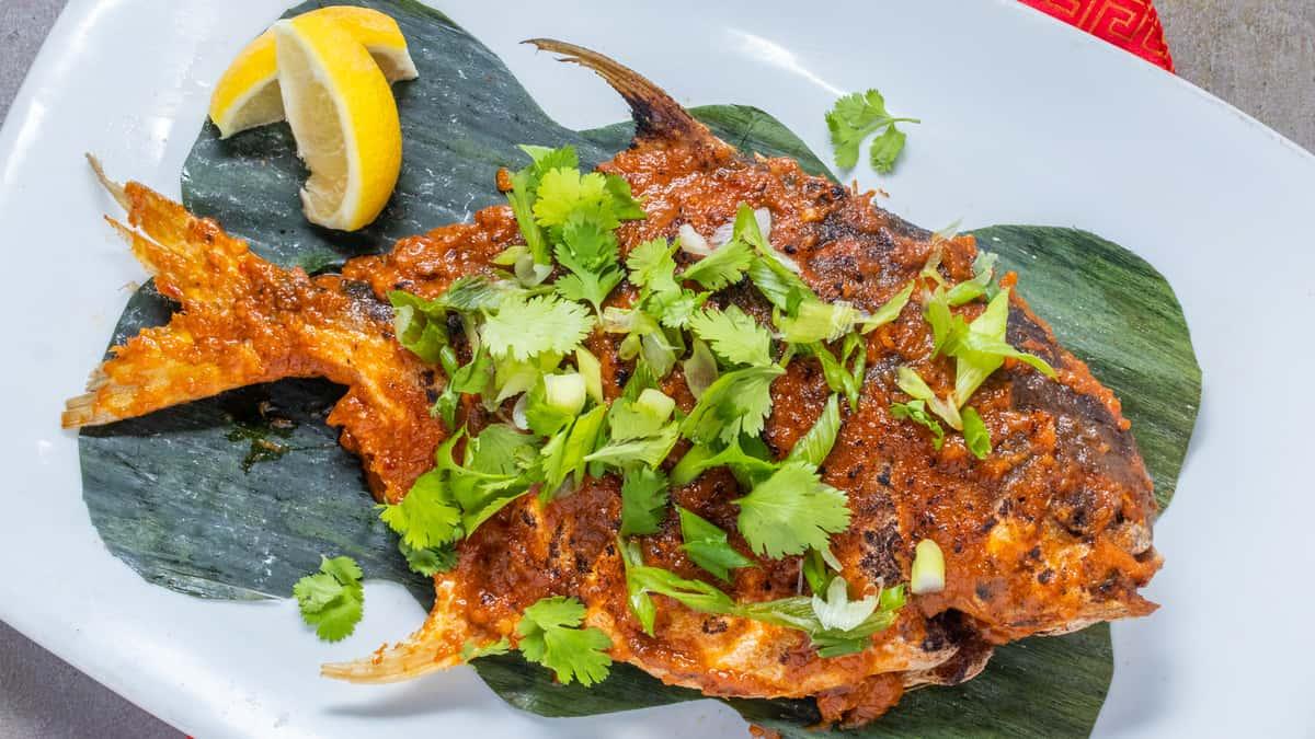 Ikan Bakar Golden Promfret