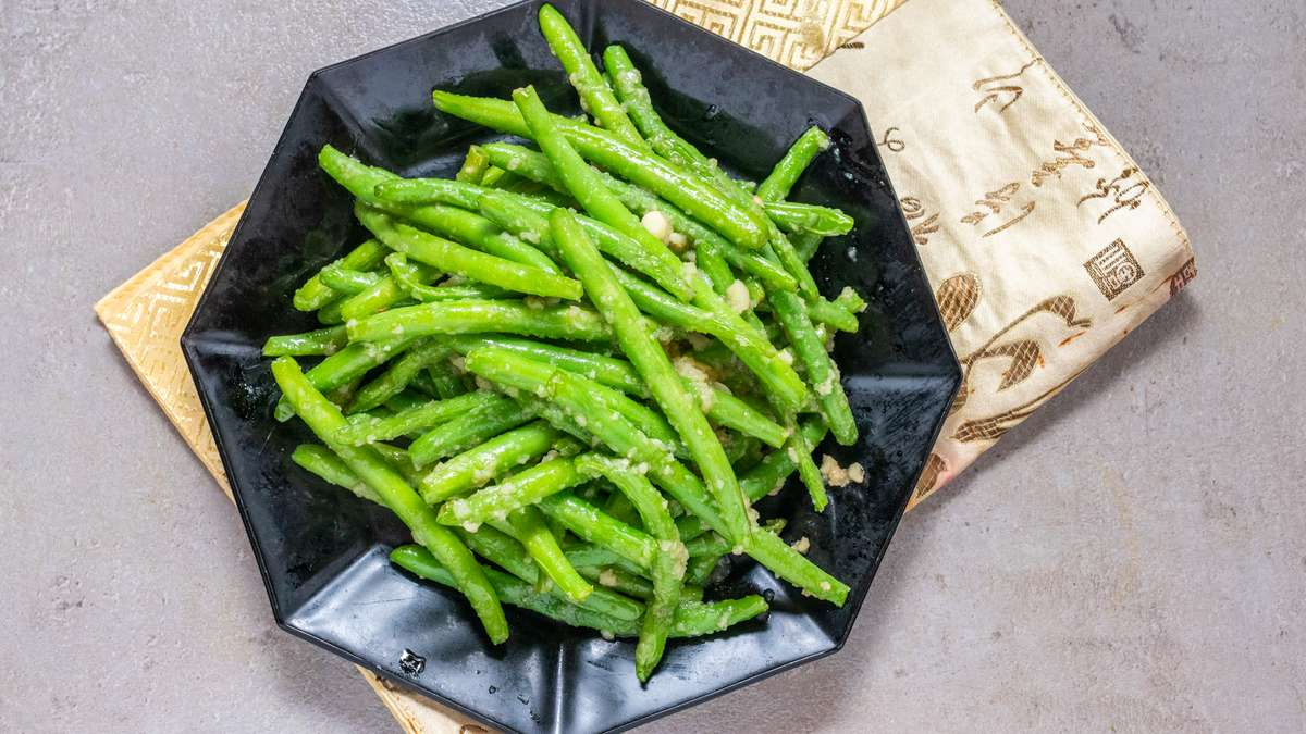 Organic Green Beans- Party Tray