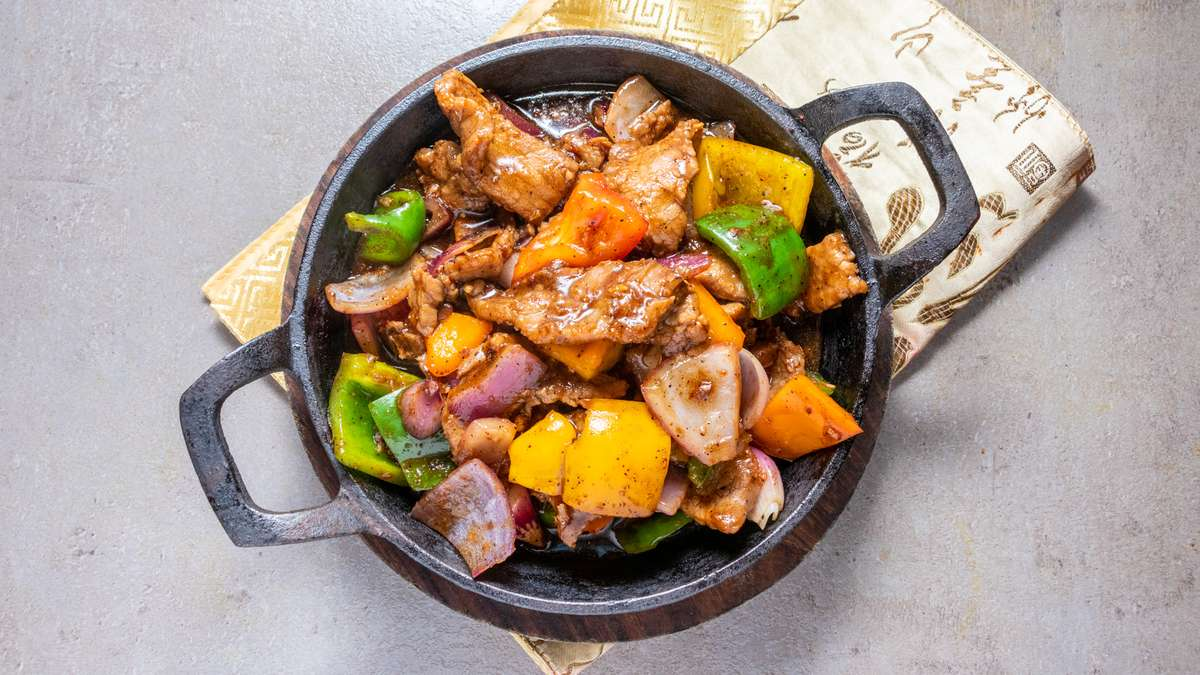 Sizzling Beef Black Pepper