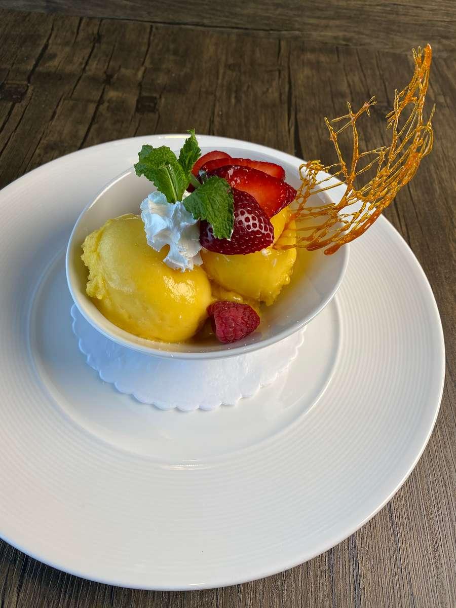 Mango Sorbet 8