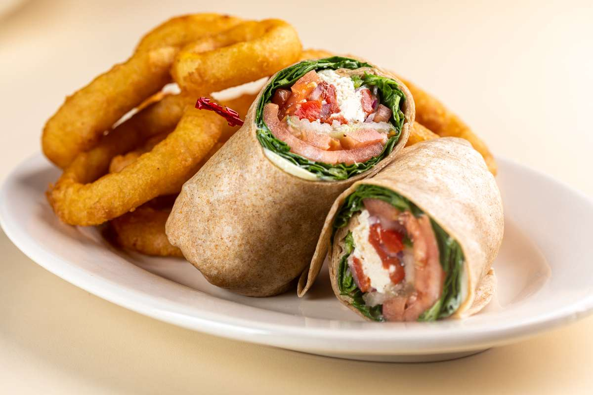 Feta Veggie Wrap
