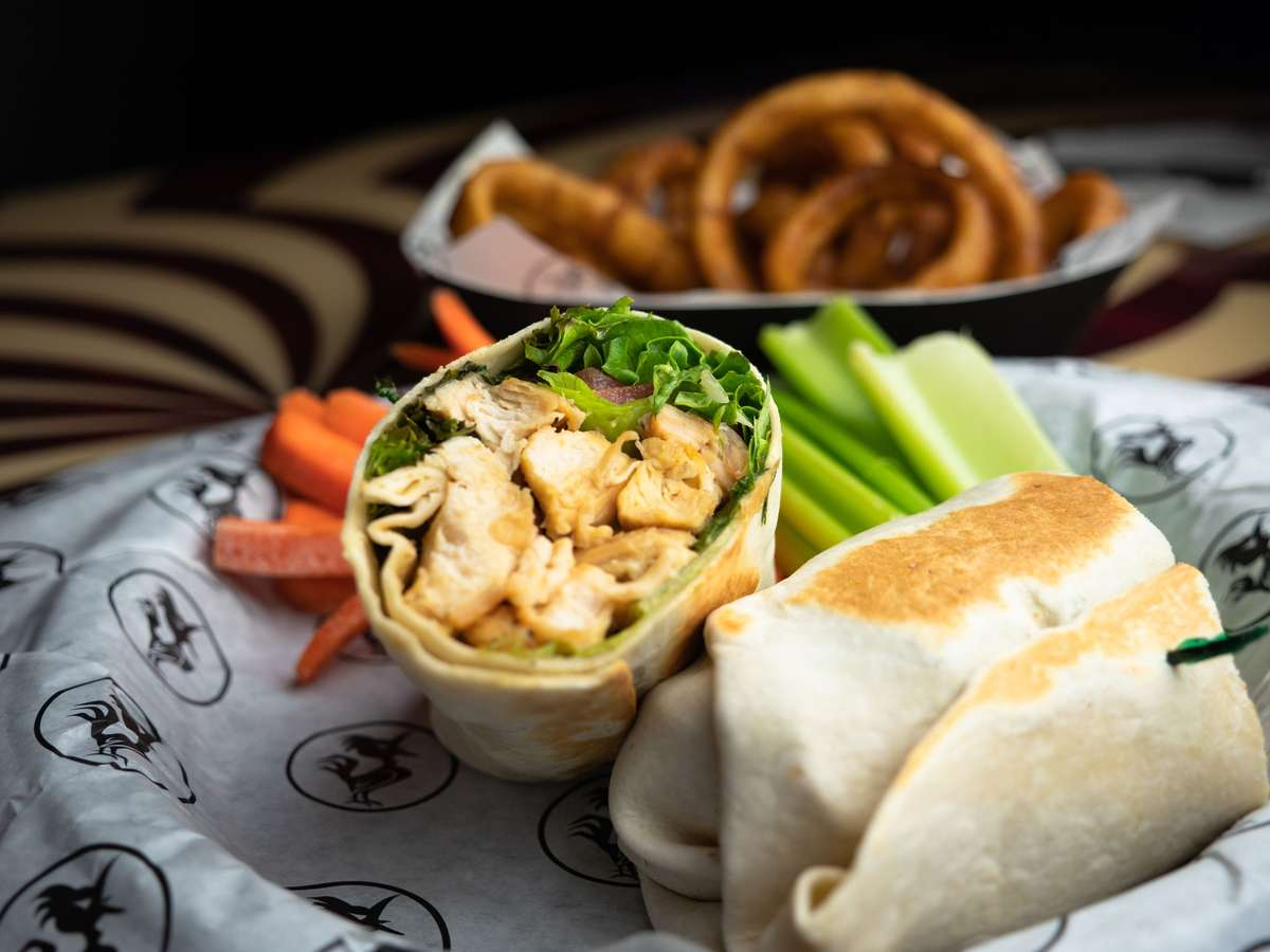 Chicken Cesar Wrap