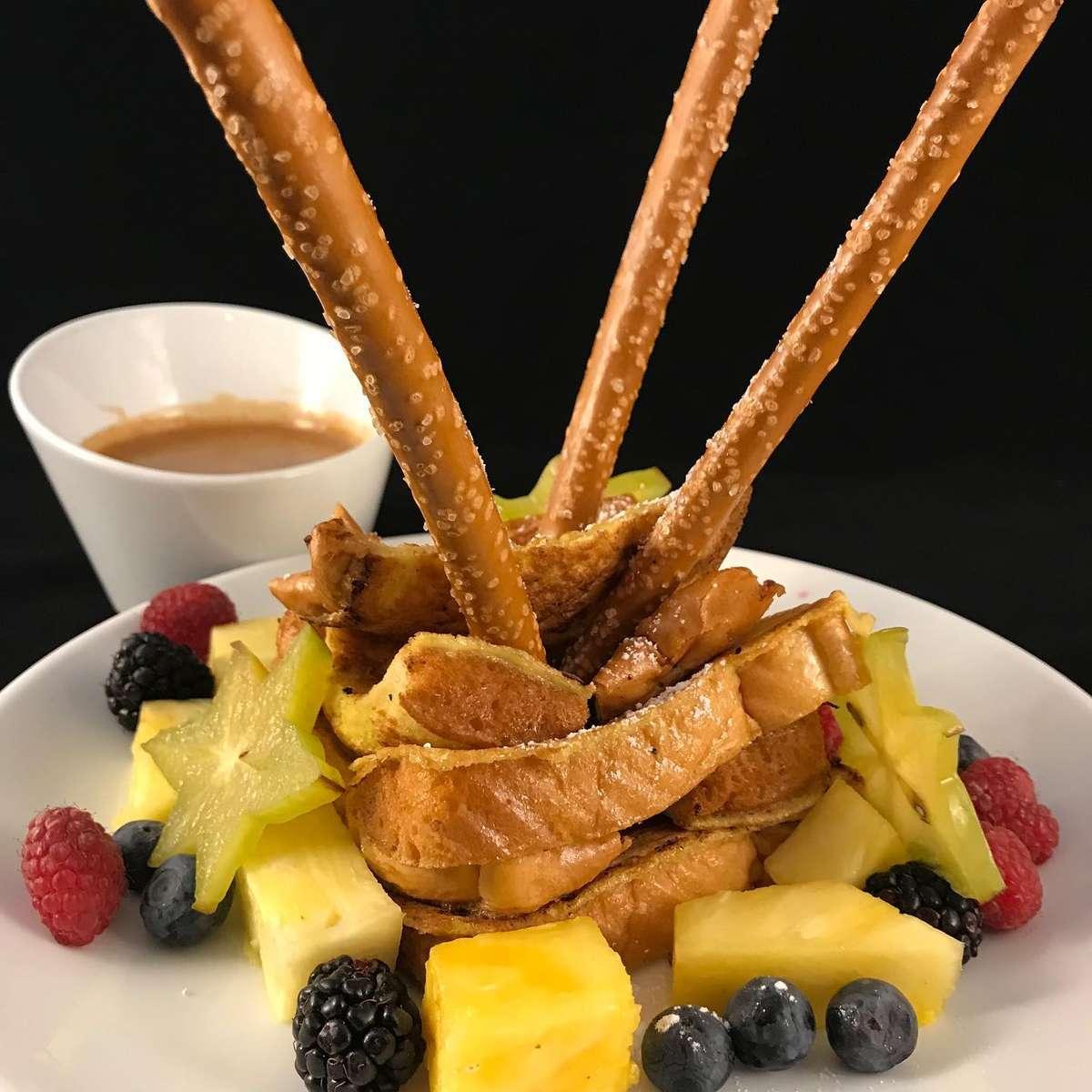 French Toast Fondue - a BC Original
