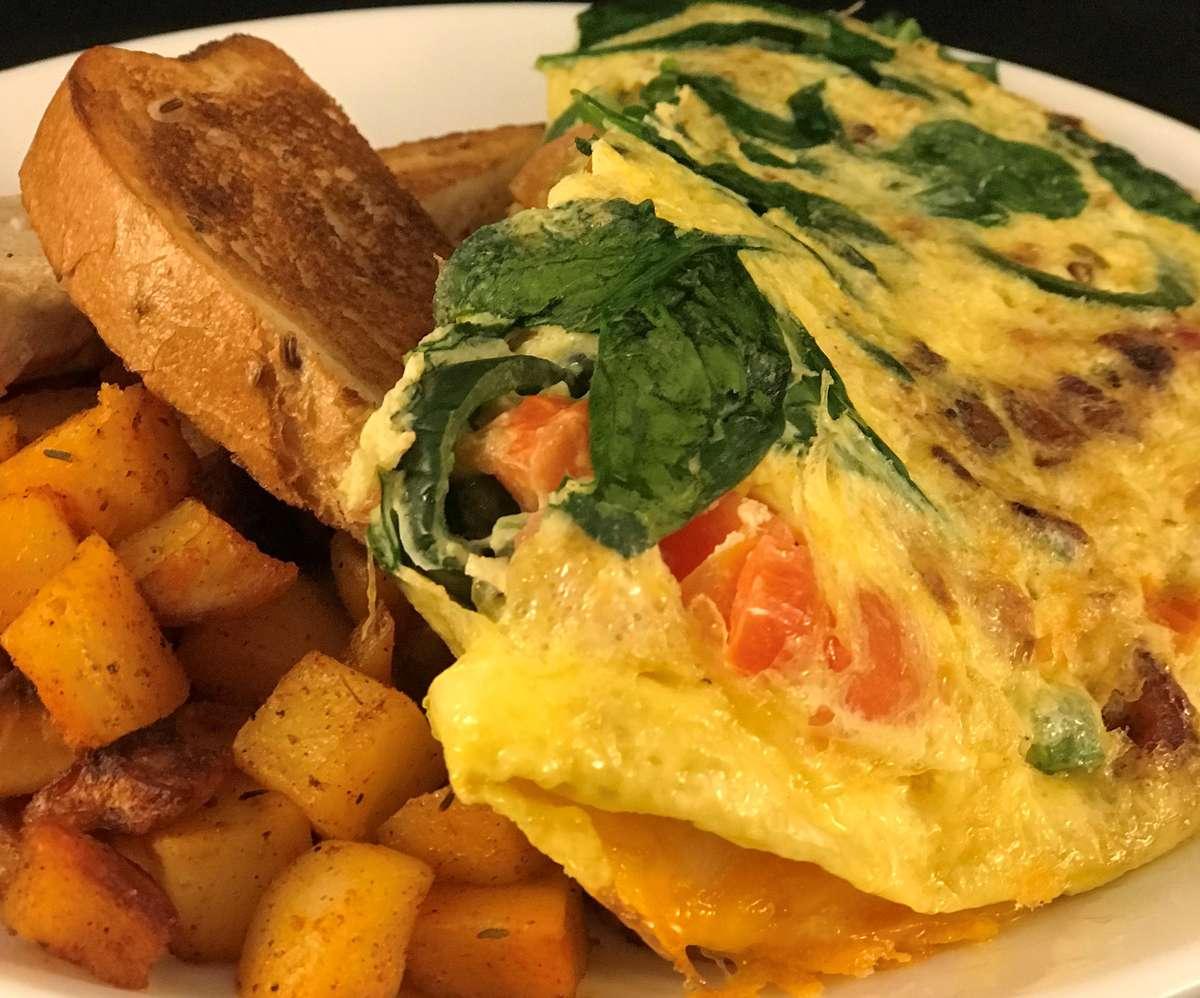 Fluffy 3 Egg Omelet