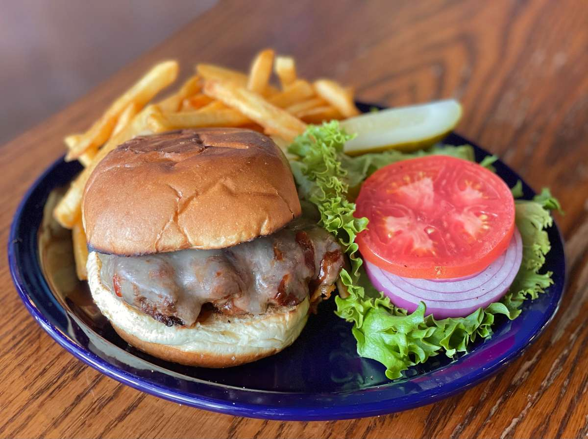 Coffee Rubbed BBQ Burger