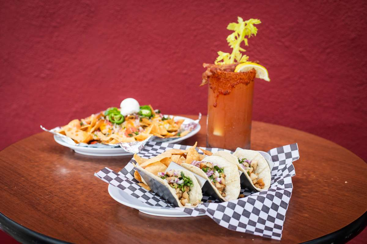 tacos and nachos