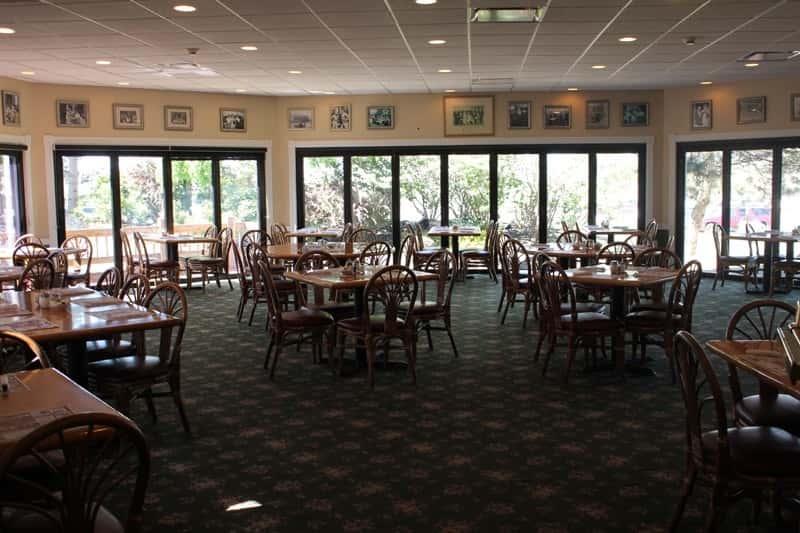 interior windows and dining room