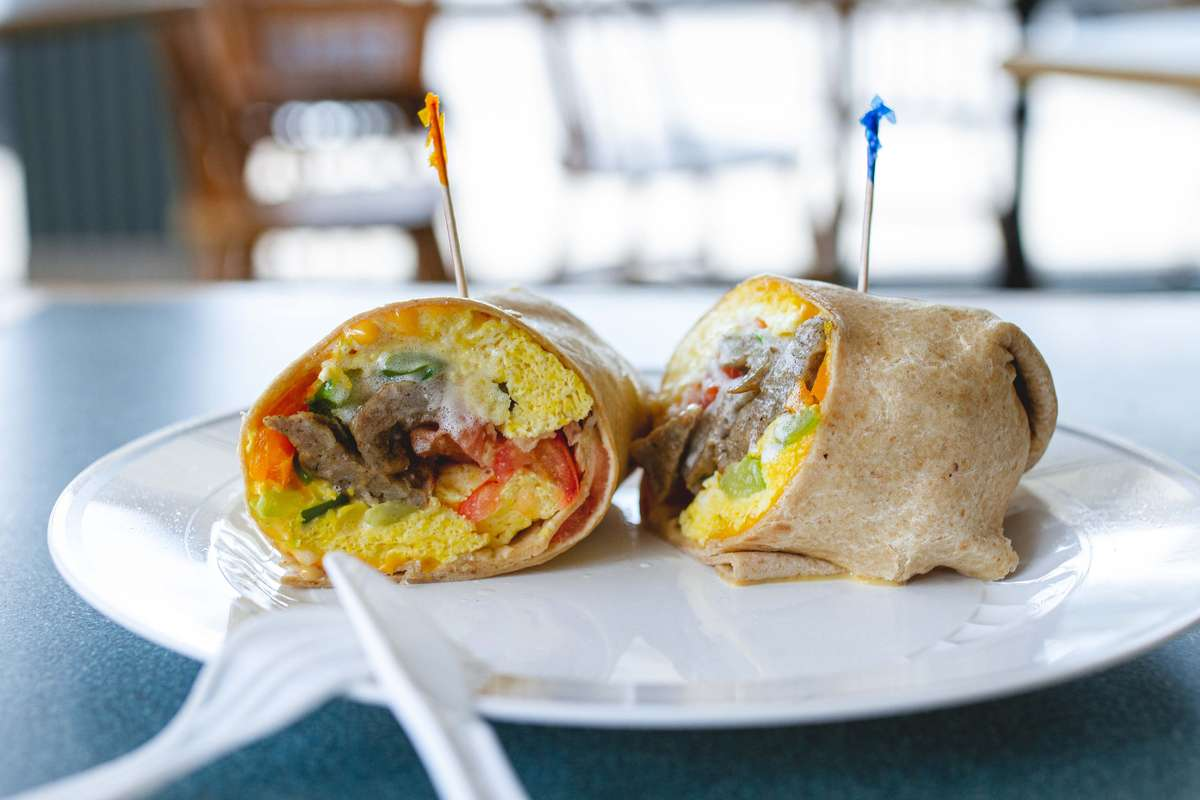 Southwest Wrap with Meat