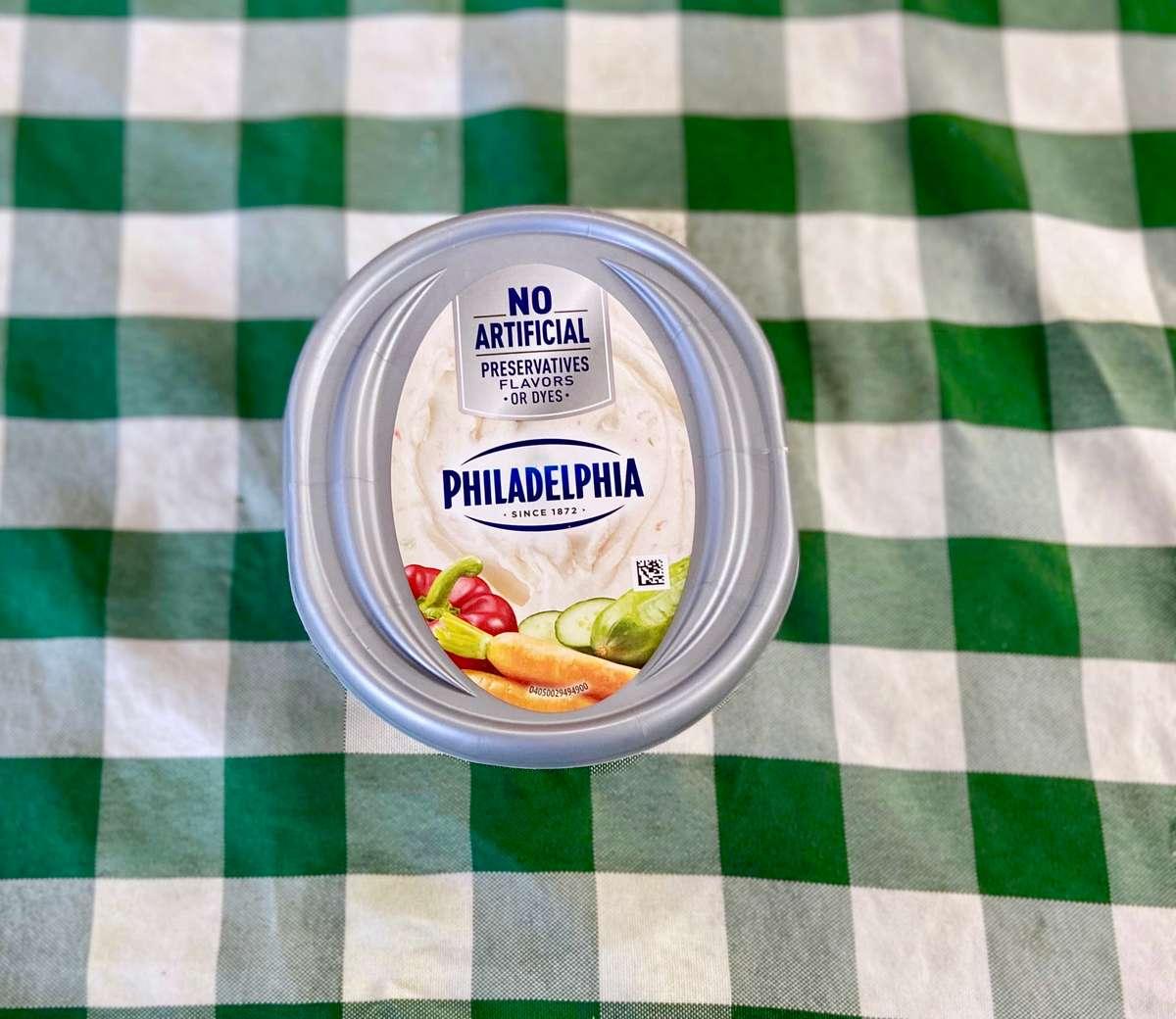 Garden Vegetable Cream Cheese