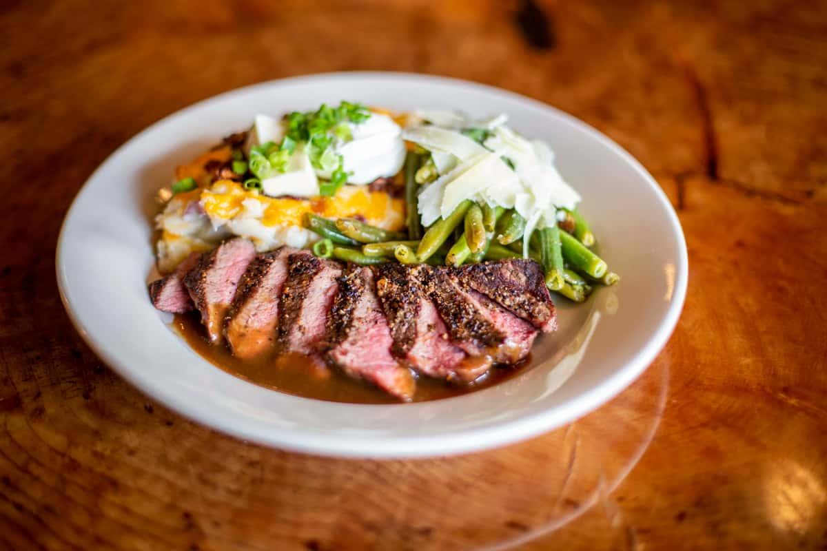 Flat Iron Steak*