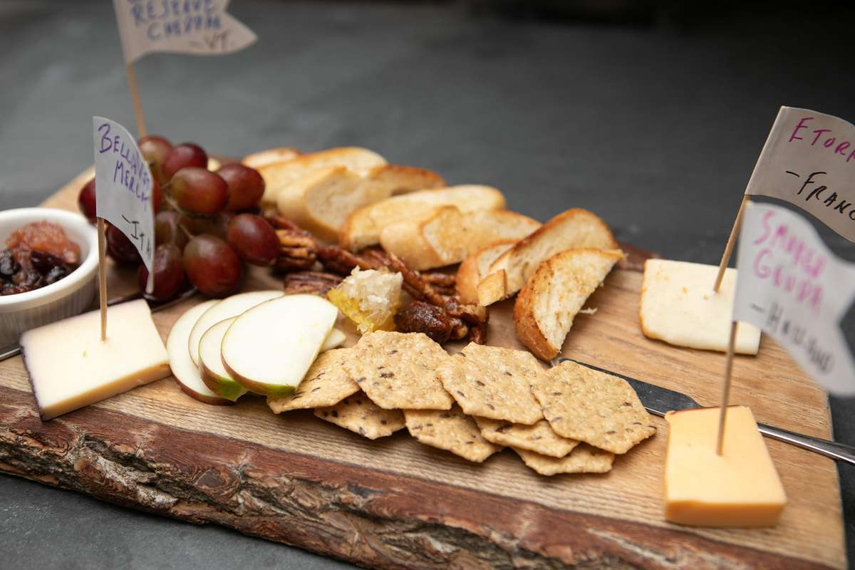 Gourmet Cheese Board