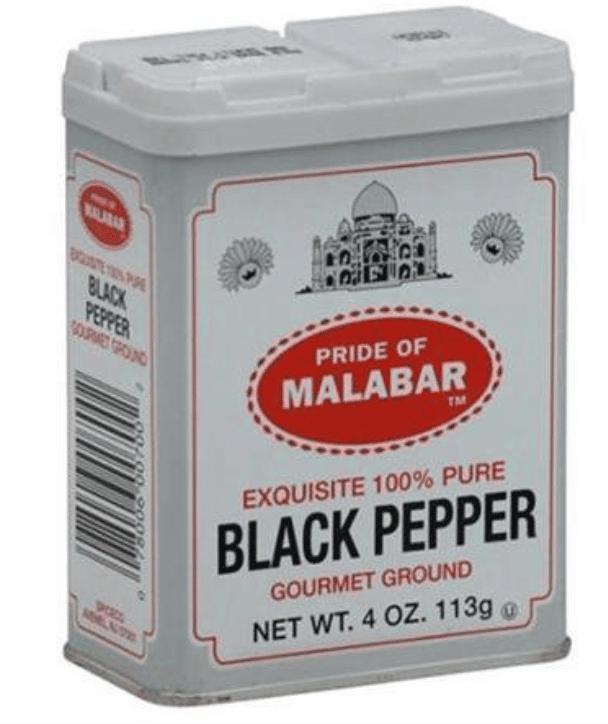 Malabar Ground Black Pepper