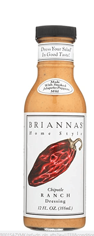 Brianna's Home Style Chipotle Ranch Dressing,