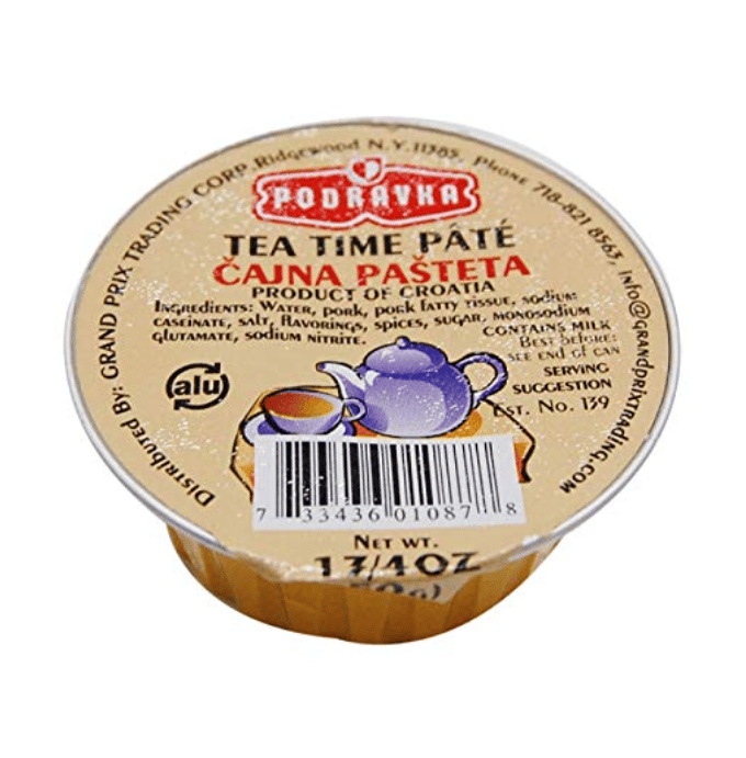 Tea Time Pate Cajna Pasteta