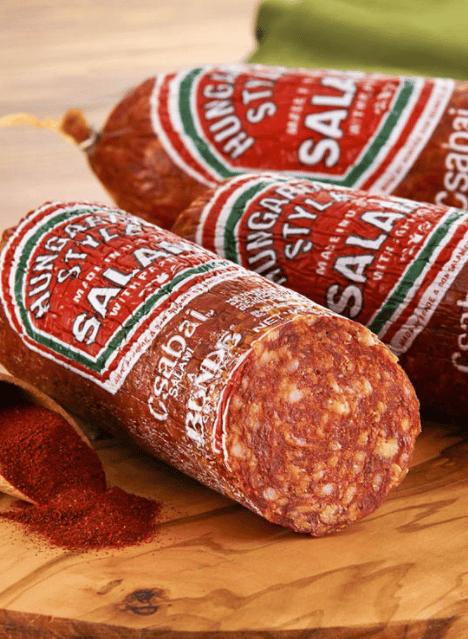 Hungarian Style Salami