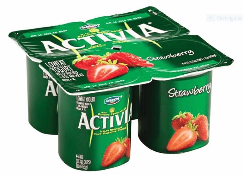 Activia Strawberry Yoghurt