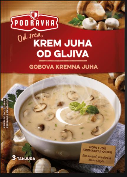 Podravka Cream of Mushroom Soup