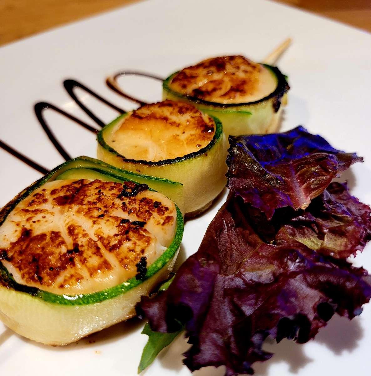 Zucchini Scallops
