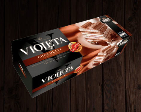 Violeta Chocolate Ice Cream Cake