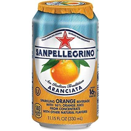 San Pellegrino- Arranciata (Orange)