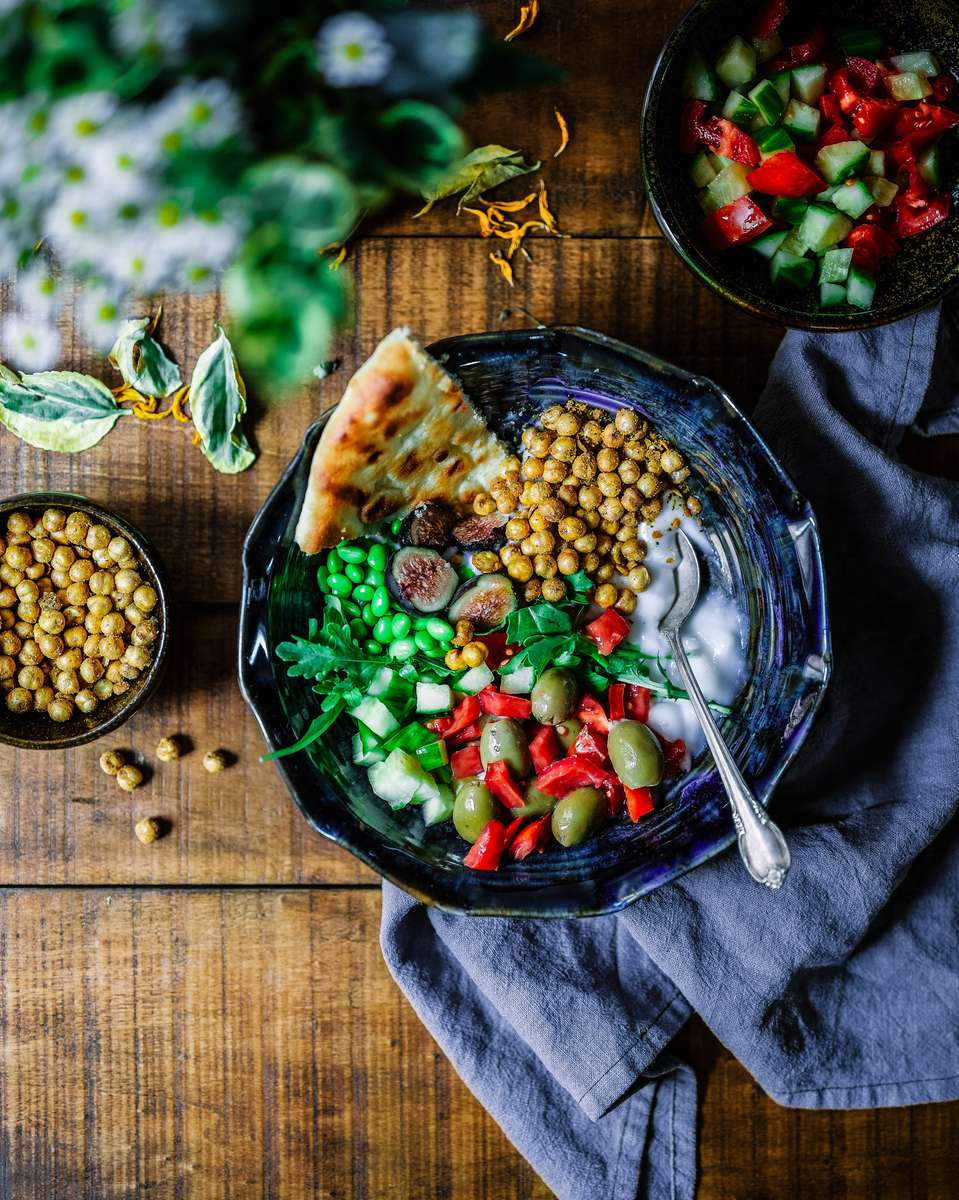 chickpea plate