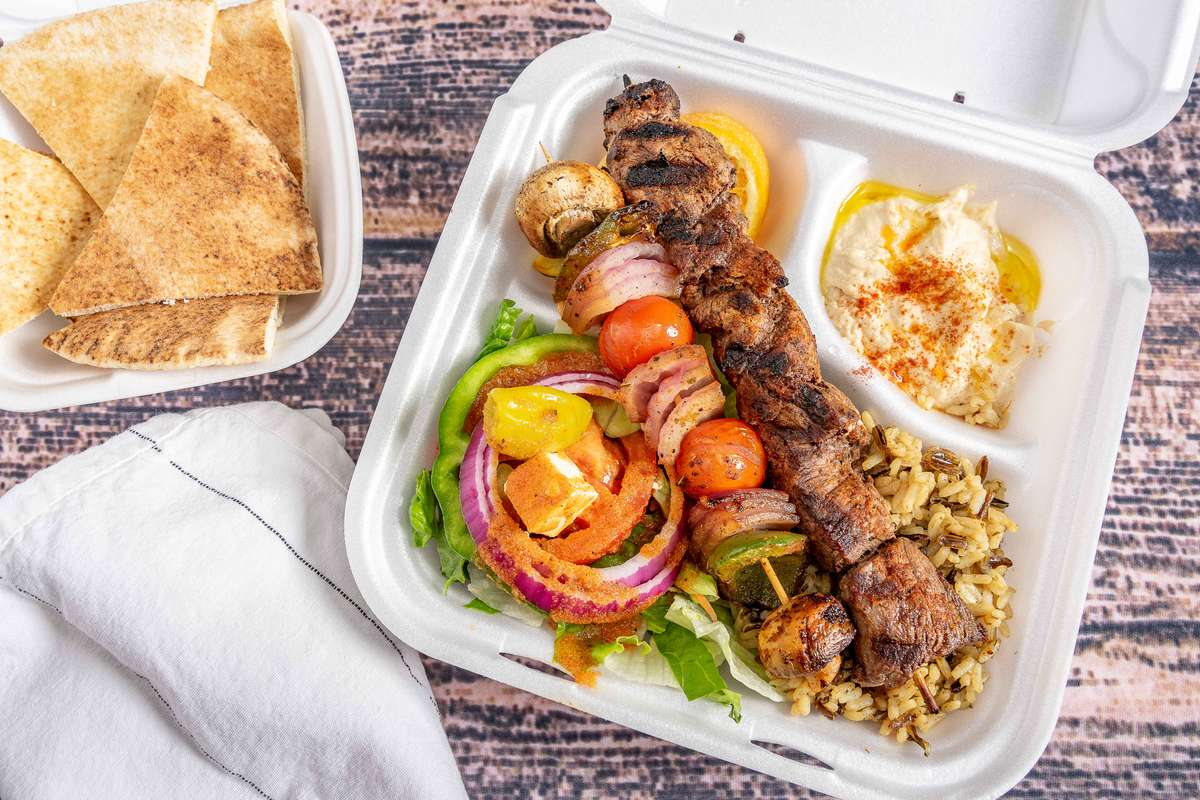 Beef Kabob Dinner