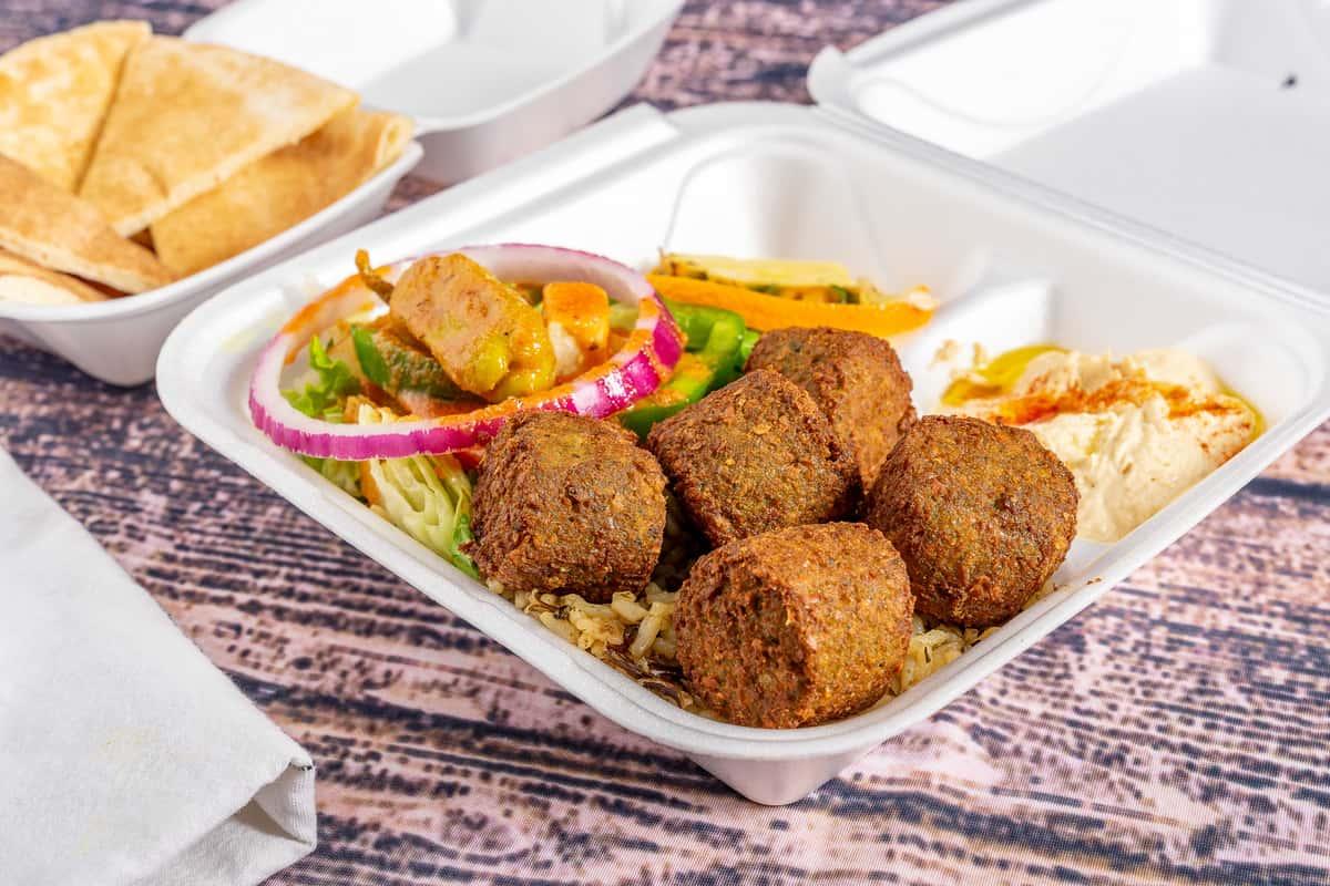 Falafel Lunch Plate