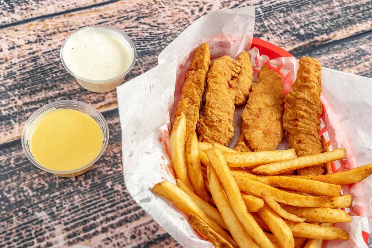 No. 7 - Chicken Finger Combo