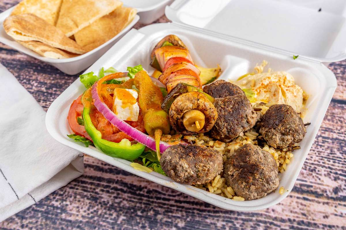 Kafta Kabob Lunch