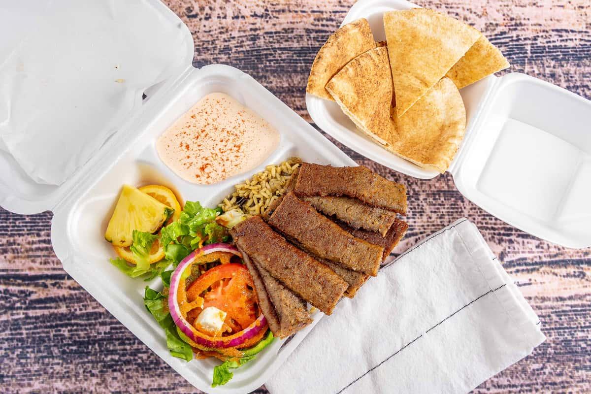Gyro Dinner Plate