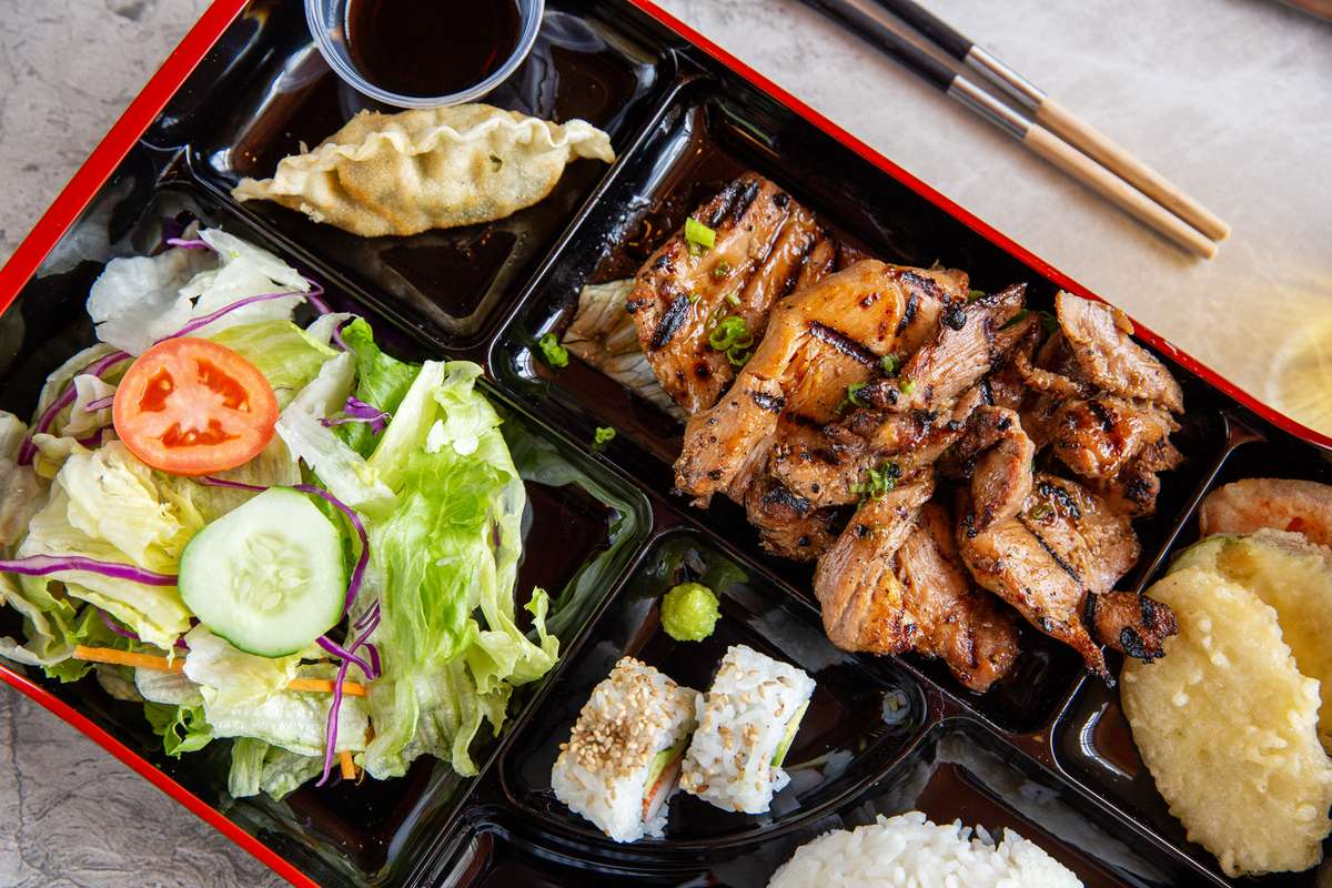 L-1 Chicken Teriyaki Box