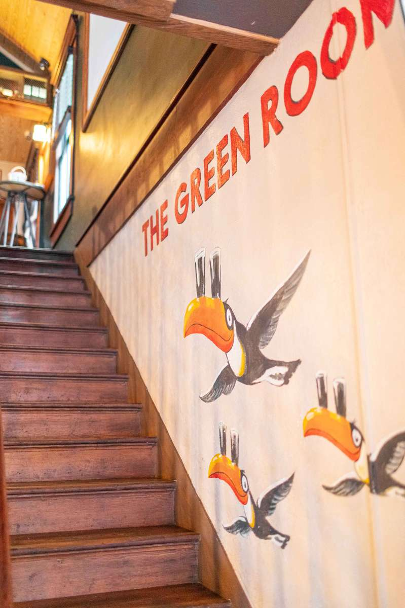 upstairs bar