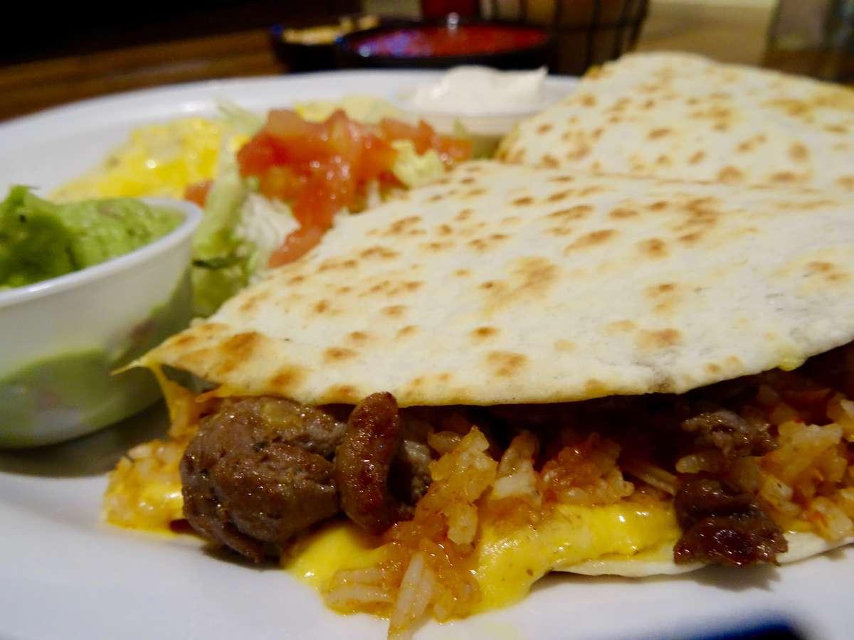 Fajita Quesadilla- Beef Steak, Chicken, or Combo